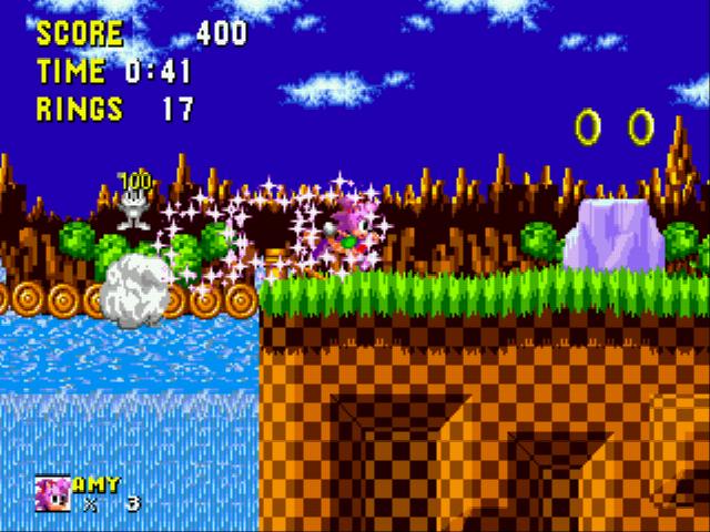 Play Amy Rose In Sonic The Hedgehog Online Sega Genesis Classic Games Online