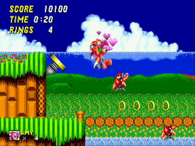Play Amy Rose in Sonic the Hedgehog 2 Online