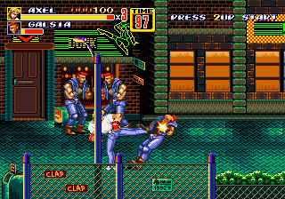 Play Bare Knuckle II – Shitou heno Chingonka – Streets of Rage II Online