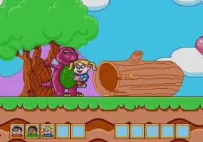 Play Barney's Hide & Seek Online
