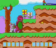 Play Barney's Hide and Seek Game Online