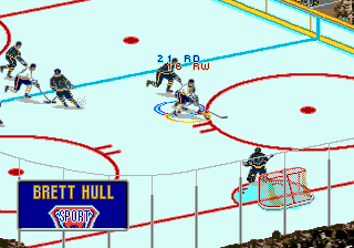 Play Brett Hull Hockey 95 Online Play All Sega Genesis Mega
