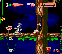 Play Bugs Bunny in Double Trouble Online