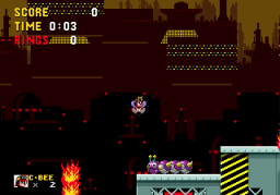 Play Charmy Bee in Sonic the Hedgehog Online
