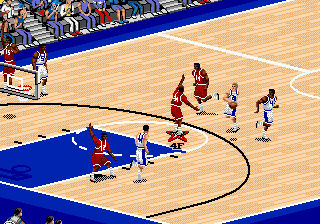 Play Coach K College Basketball Online