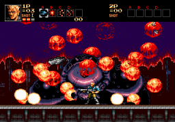 Play Contra – Hard Corps (Hit Points Restoration) Online