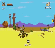 Play Desert Demolition Online