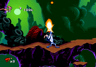 Play Earthworm Jim Online