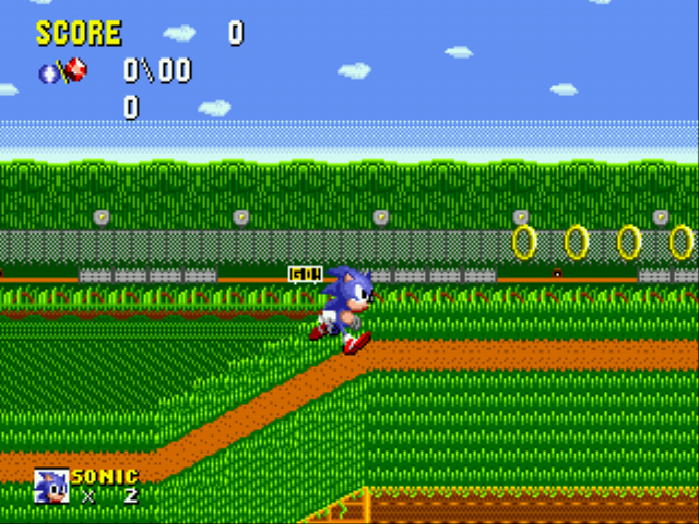 Play Flicky Turncoat DX (demo Sonic 1 hack) Online