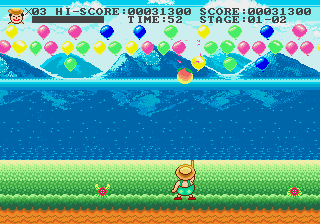 Play Funny World and Balloon Boy Online
