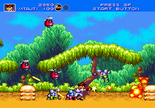Play Gunstar Heroes Online
