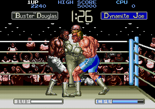 Play James 'Buster' Douglas Knockout Boxing Online