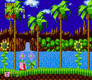 Play Kirby in Sonic the Hedgehog Online