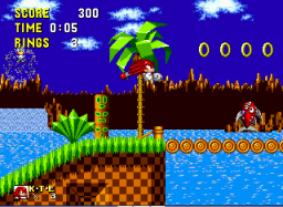 Play Knuckles The Echidna In Sonic The Hedgehog Online Sega Genesis Classic Games Online