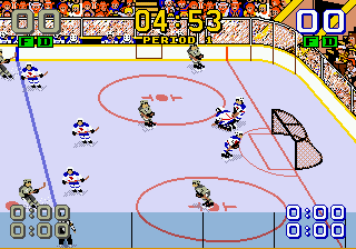 Play Mario Lemieux Hockey Online Play All Sega Genesis Mega