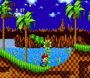 Play Mario in Sonic 1 (Somari) Online