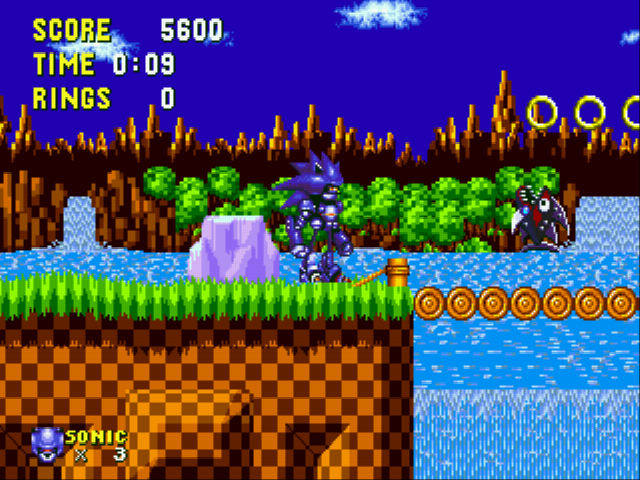 Play Mecha Sonic in Sonic the Hedgehog (Proof of Concept) Online