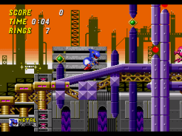 Play Metal Sonic in Sonic the Hedgehog 2 Online