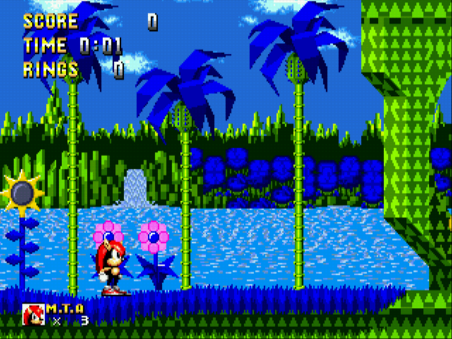 Play Mighty The Armadillo in Sonic the Hedgehog Online