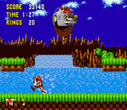Play Mighty the Armadillo in Sonic 1 (Knuckles Chaotix Sprites) Online