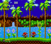 Play Motobug in Sonic 1 (beta) Online