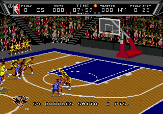 Play NBA Action '94 Online
