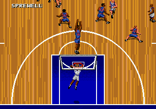 Play NBA Action '95 Starring David Robinson Online