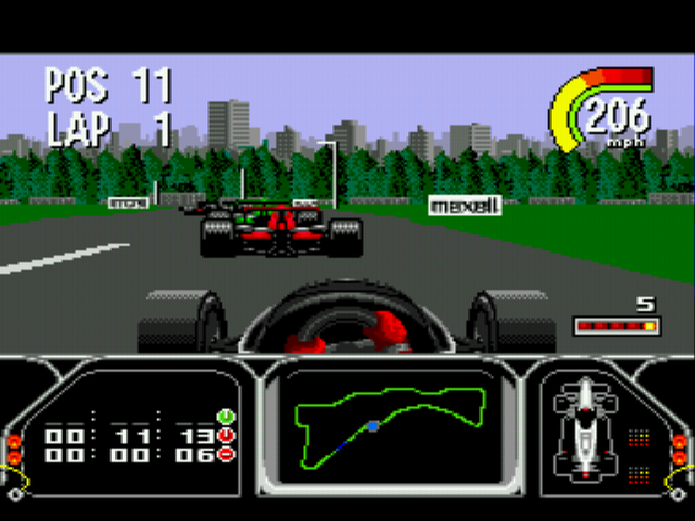 Play Newman Haas Indy Car Featuring Nigel Mansell Online