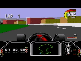 Play Newman Hass IndyCar Racing Online