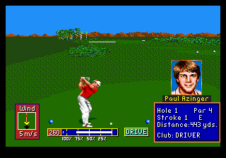 Play PGA Tour Golf II Online