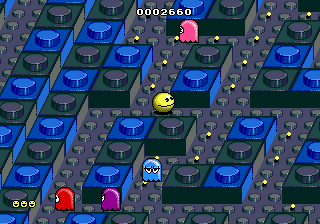 Play Pac-Mania Online