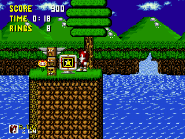 Play Pantufa the Cat (Sonic 1 hack) Online