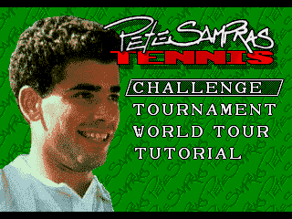 Play Pete Sampras Tennis (J-Cart) (MDST6636) Online