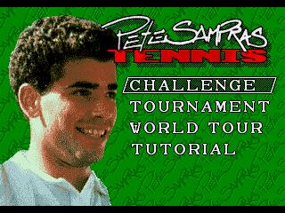 Play Pete Sampras Tennis (J-Cart) (MDST6636) Online