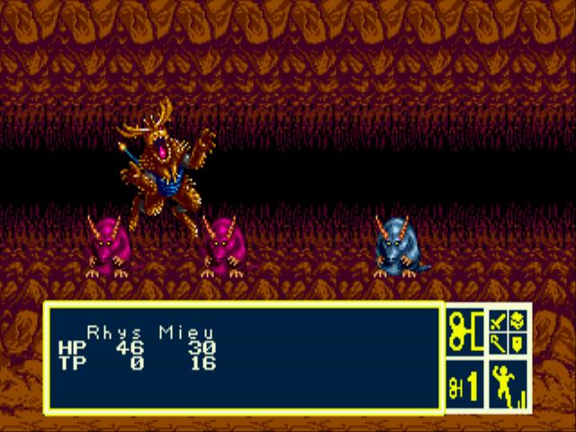 Play Phantasy Star III – Generations of Doom Online