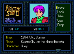 Play Phantasy Star II – Huey's Adventure (english translation) Online