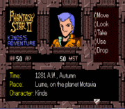 Play Phantasy Star II – Kinds's Adventure (english translation) Online