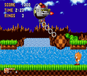 Play Ray the Flying Squirrel in Sonic the Hedgehog Online