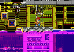 Play Sally Acorn in Sonic the Hedgehog 2 Online