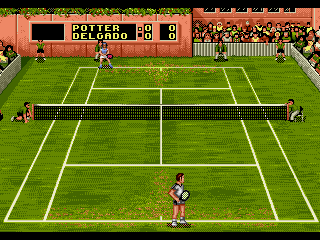 Play Sampras Tennis 96 (J-Cart) Online