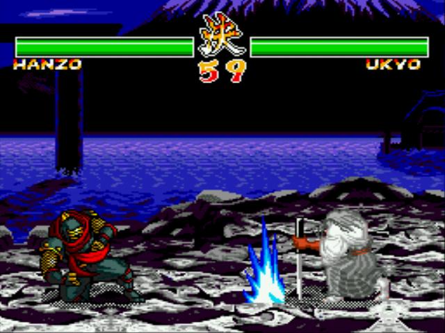 Play Samurai Spirits II Online