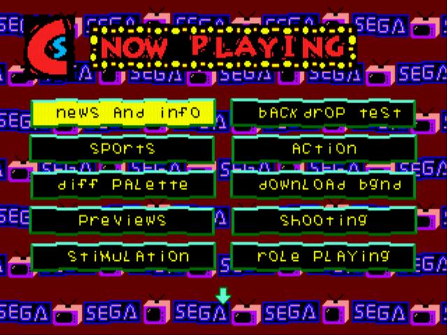 Play Sega Channel (prototype) Online