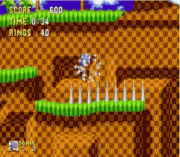 Play Sonic 1 – Spike Bug Fix & Spindash Online