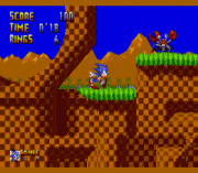 Play Sonic 1 – The Harder Levels (demo) Online