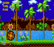 Play Sonic 1 Beta Remake Online