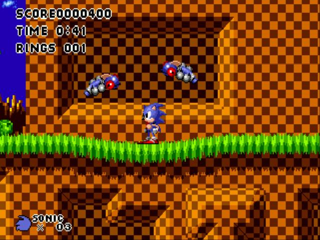 Play Sonic 1 Lunacy (demo) Online