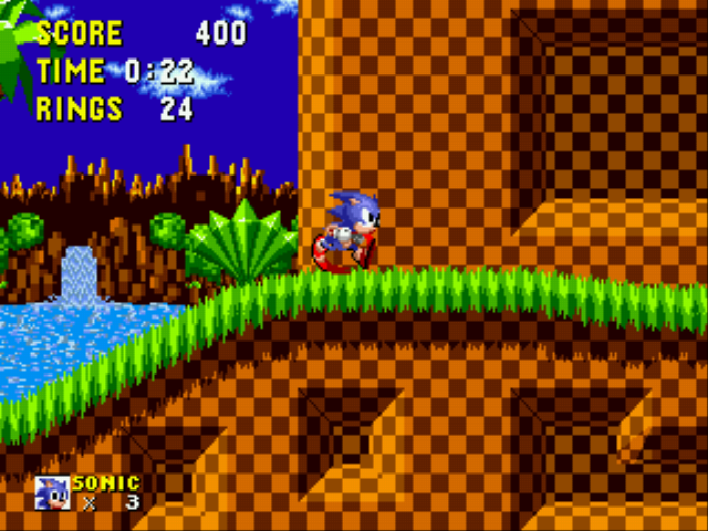 Play Sonic 1 Reversed Frequencies Online