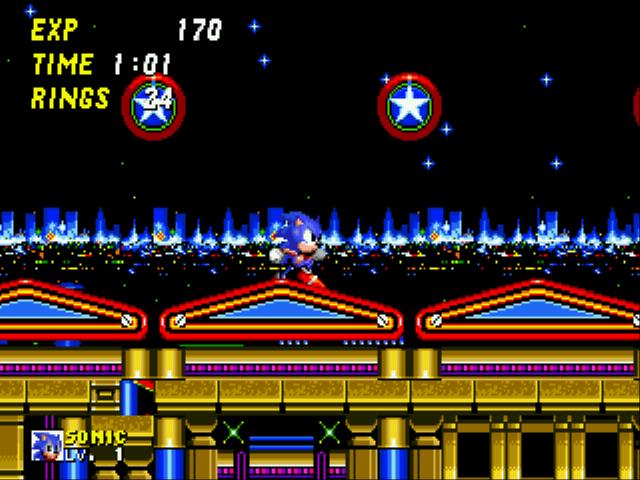 Play Sonic 2 – Secret Rings Control Online