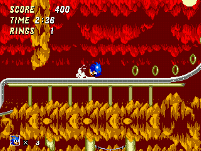 Play Sonic 2 – The Hybridization Project Online