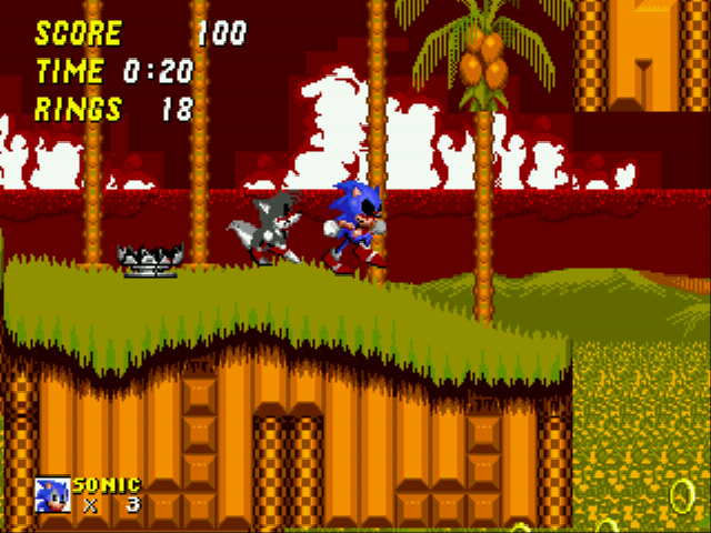 Play Sonic 2 EXE Online